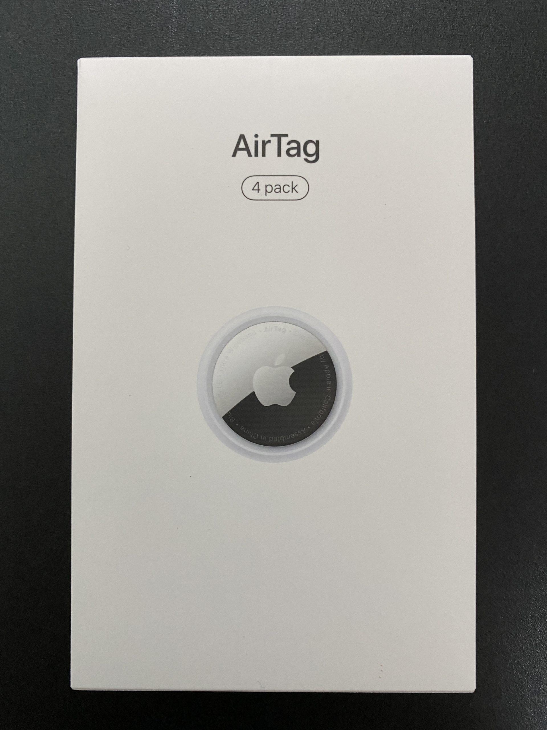 AirTag購入してみた!(開封編)